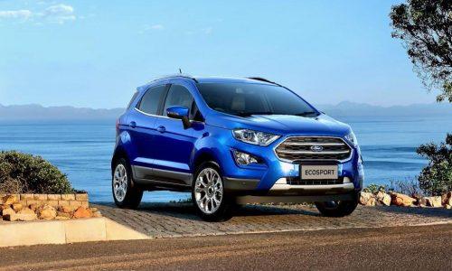 2018 Ford EcoSport on sale in Australia December 14