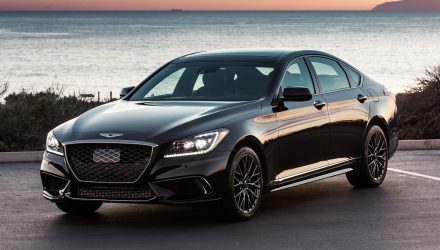 Genesis G80 arriving in Australia, Sport Design Package added