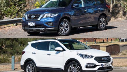 2018 Hyundai Santa Fe vs Nissan Pathfinder: 7-seat SUV comparison