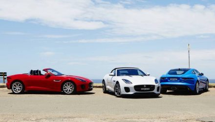 Jaguar F-Type 4-cylinder turbo now on sale in Australia
