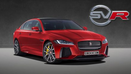 Jaguar XF SVR rendered, perfect BMW M5 rival?