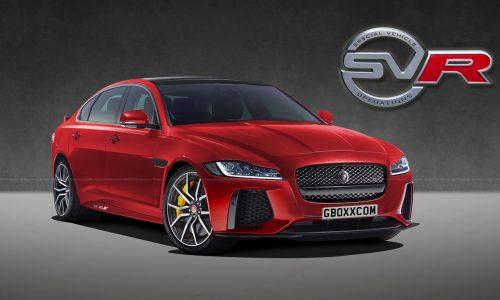 Jaguar XF SVR rendered, perfect BMW M5 rival?