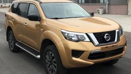 Nissan Navara-based Terra 7-seat SUV spotted