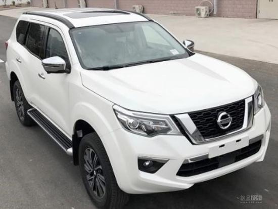Nissan Navara-based Terra 7-seat SUV spotted ...