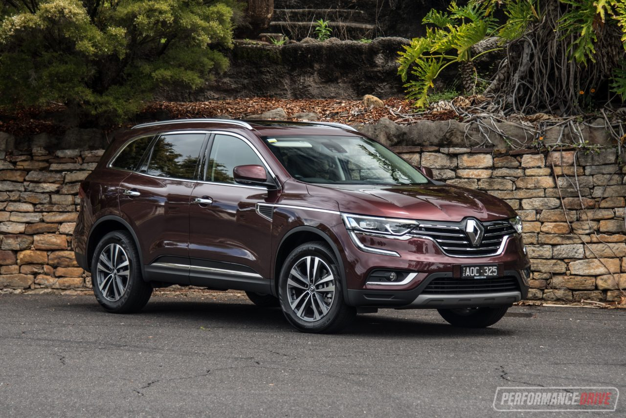 2017 Renault Koleos Diesel Review Video Performancedrive