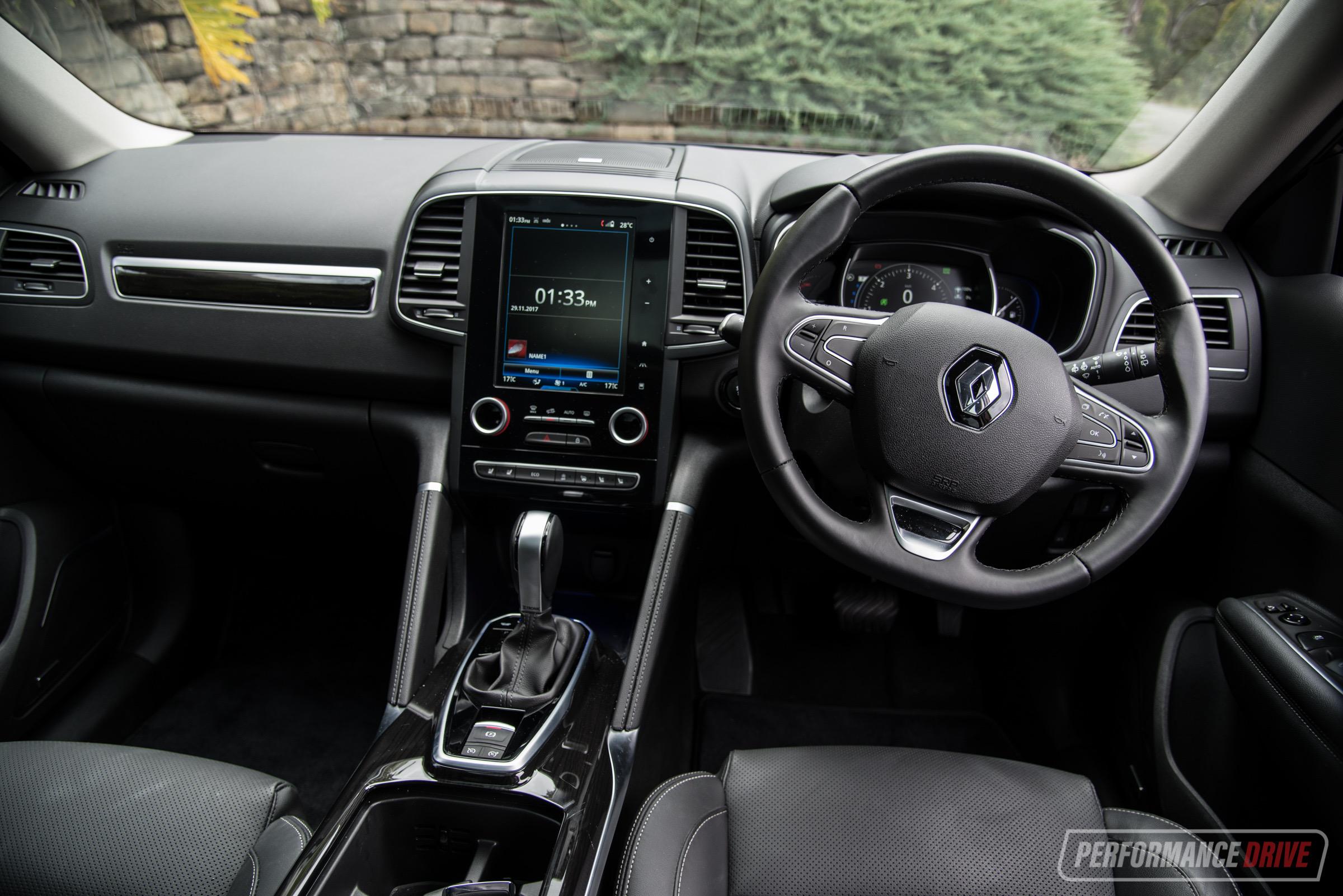 2018 Renault Koleos Diesel Interior