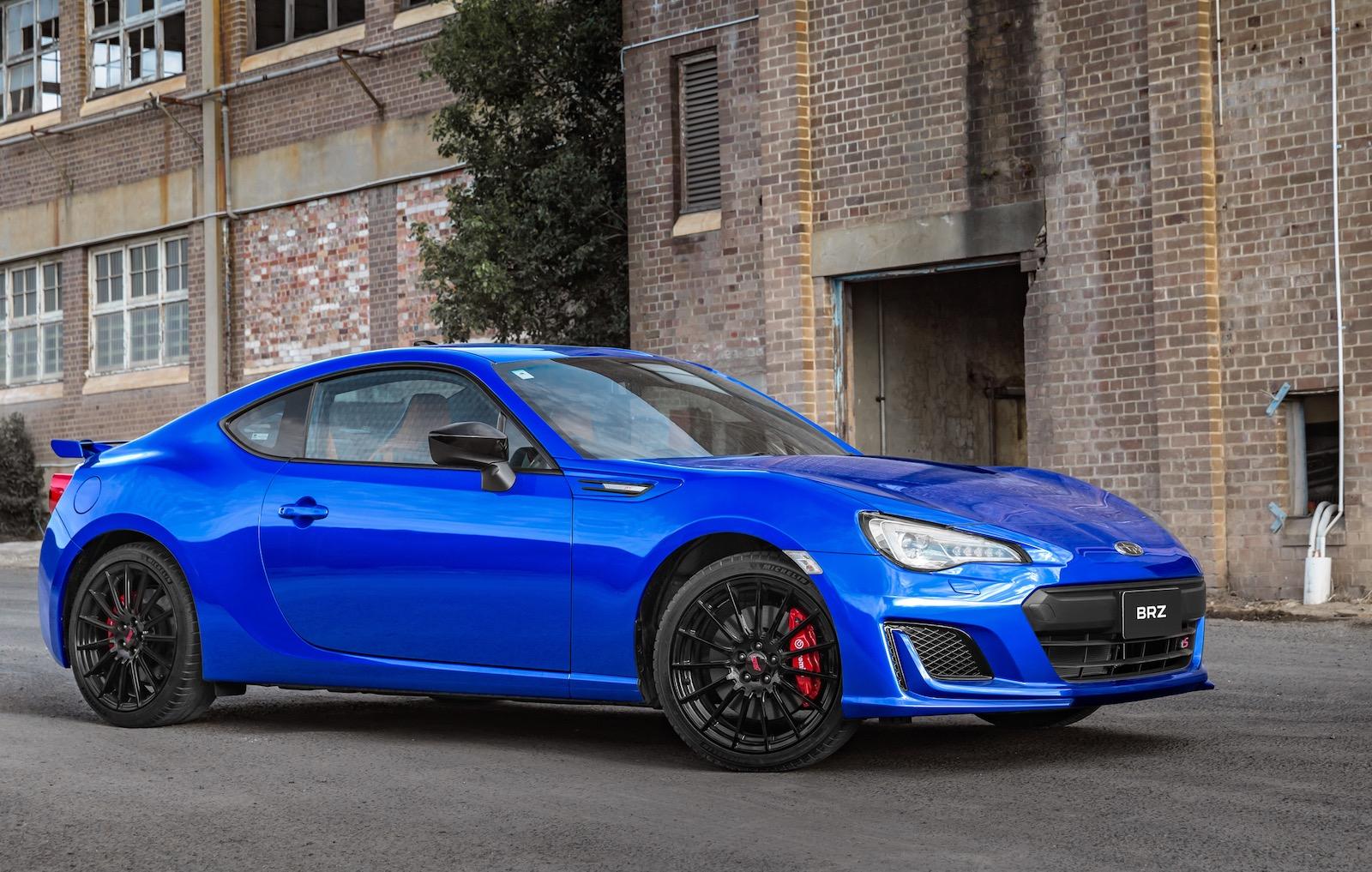 2018 Subaru Brz Now On Sale In Australia Sti Inspired Ts