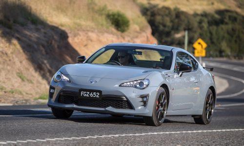 2018 Toyota 86 performance kit announced in Australia