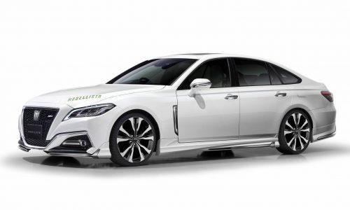 2018 Toyota Crown Modellista accessories headed for Tokyo Auto Salon