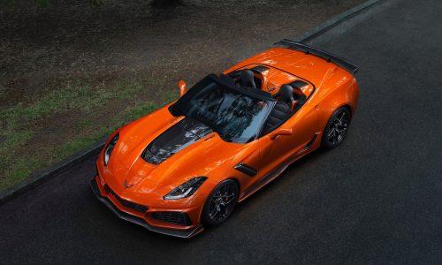 2019 Chevrolet Corvette ZR1 debuts, first drop-top ZR1 since 1970