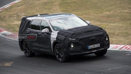 2019 Hyundai Santa Fe debuts in February, to adopt Kona styling