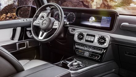 2019 Mercedes-Benz G-Class interior revealed