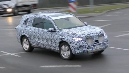 2019 Mercedes-Benz GLS (X167) spied, to adopt new MHA platform (video)