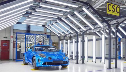 New Alpine A110 production commences at historic facility