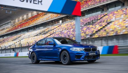 2018 BMW M5 breaks lap record at Shanghai F1 circuit