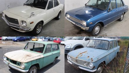 For Sale: Classic Mazdas up for auction; 808, Familia, 800, 1000 wagon