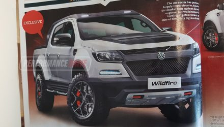 Holden Colorado-based HSV 'Wildfire' in the works – report