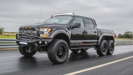 Hennessey VelociRaptor 6×6 now ready to order, 100 up for grabs (video)