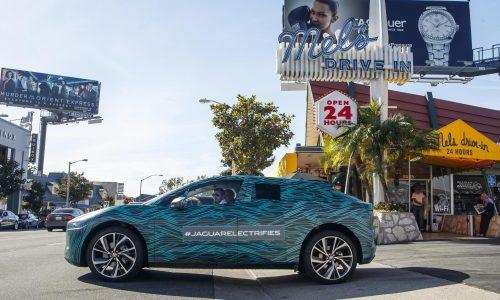 Jaguar I-Pace undergoes final stages of testing, arrives in LA