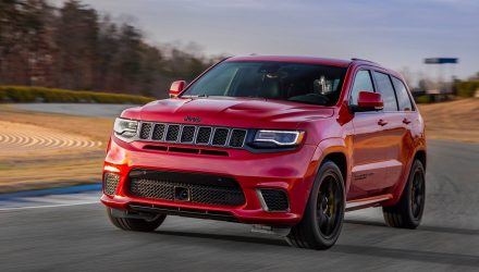 527kW Jeep Grand Cherokee Trackhawk now on sale in Australia