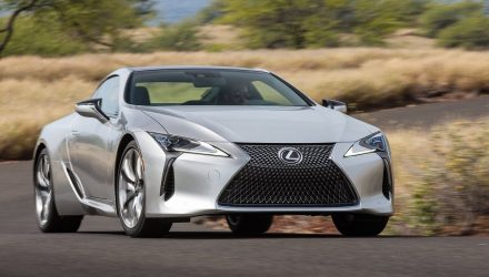 Lexus LC F to debut 4.0TT V8, 130kg diet via carbon fibre – rumour