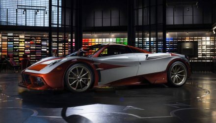 One-off Pagani Huayra Lampo revealed, inspired by classic Fiat