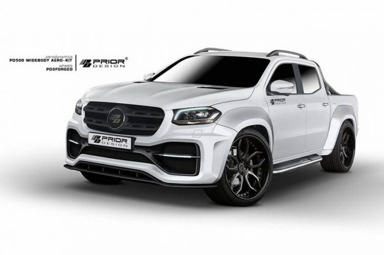 Prior Design Develops Wide Body Kit For Mercedes X Class