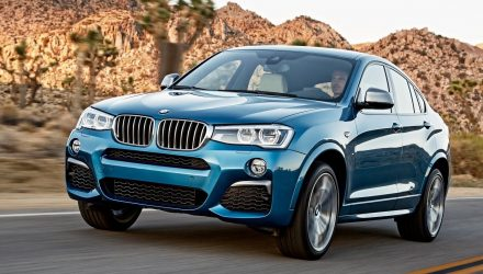 New BMW X4 confirmed for 2018, M40d to be added