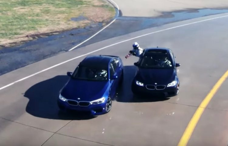 Bmw M5 To Reclaim Worlds Longest Drift With Crazy Refuelling Video