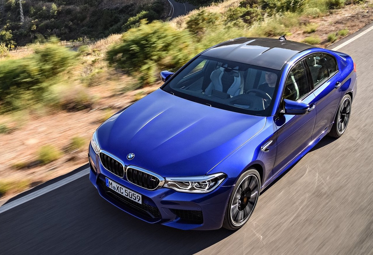 2018 Bmw M5 Competition Package In The Works More Power