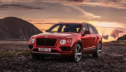 Bentley Bentayga V8 variant unveiled with 405kW