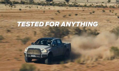 2018 Ford Ranger Raptor undergoes tough off-road testing (video)