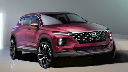 2018 Hyundai Santa Fe design revealed, gets Kona treatment