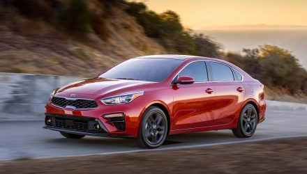 2018 Kia Cerato unveiled at Detroit, stylish new look