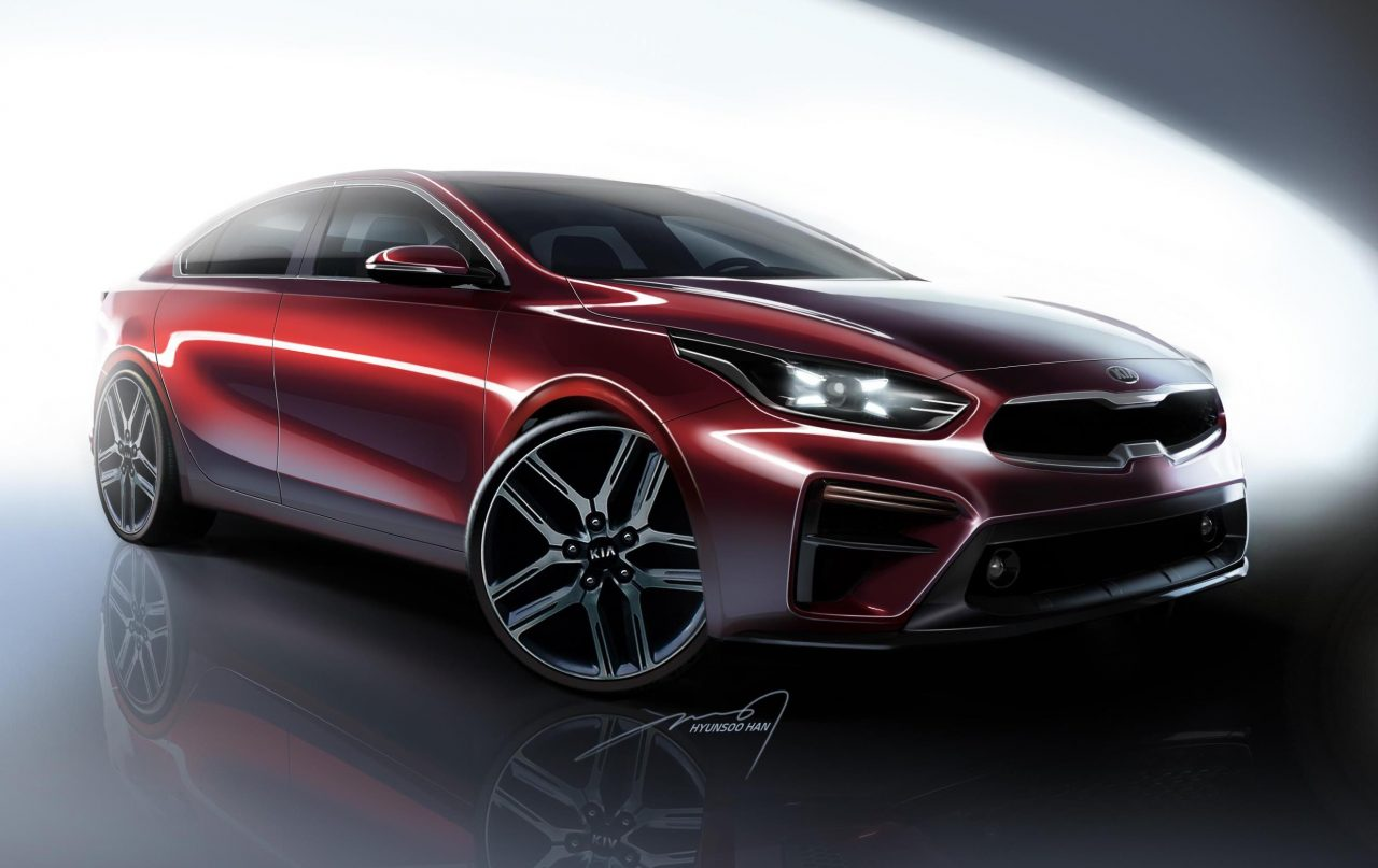 2018 Kia Cerato looks flash in official renderings ...