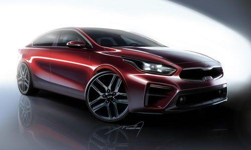 2018 Kia Cerato looks flash in official renderings