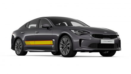Kia Stinger Rafa edition announced, Picanto GT-Line added (sort of)