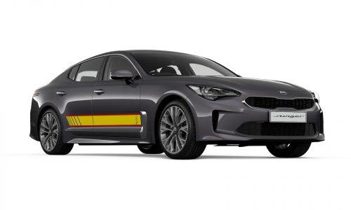Kia Stinger Rafa edition announced, Picanto GT-Line added (sort of)