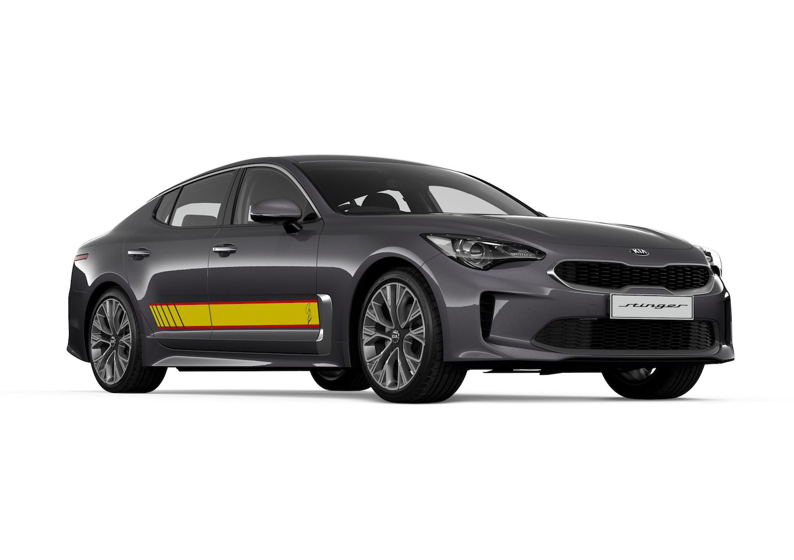 Kia Stinger Rafa edition announced, Picanto GT-Line added ...