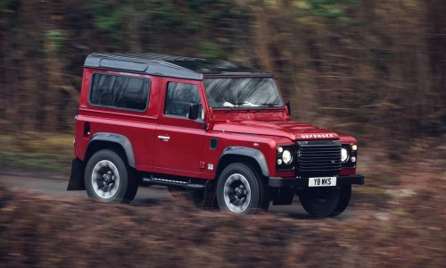 2018 Land Rover Defender Works V8 special edition announced