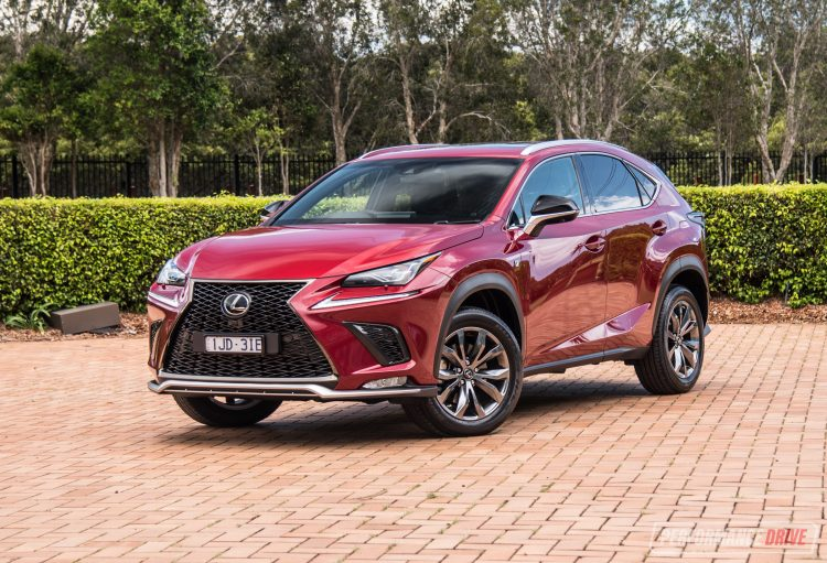 Lexus Nx F Sport 2018 >> 2018 Lexus NX 300 F Sport review (video) | PerformanceDrive