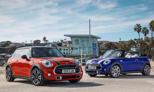 2018 MINI revealed with added tech, new 7spd dual-clutch option