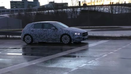2018 Mercedes-Benz A-Class spotted; new A 35 AMG? (video)