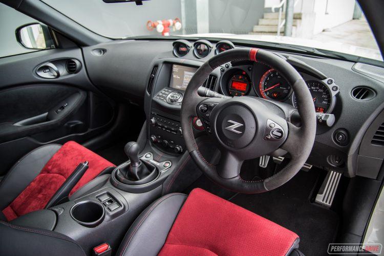370z nissan nismo interior performancedrive package