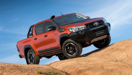 Toyota HiLux Rugged & Rogue variants confirmed for Australia
