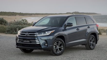 Toyota Australia boosts safety tech across Kluger range