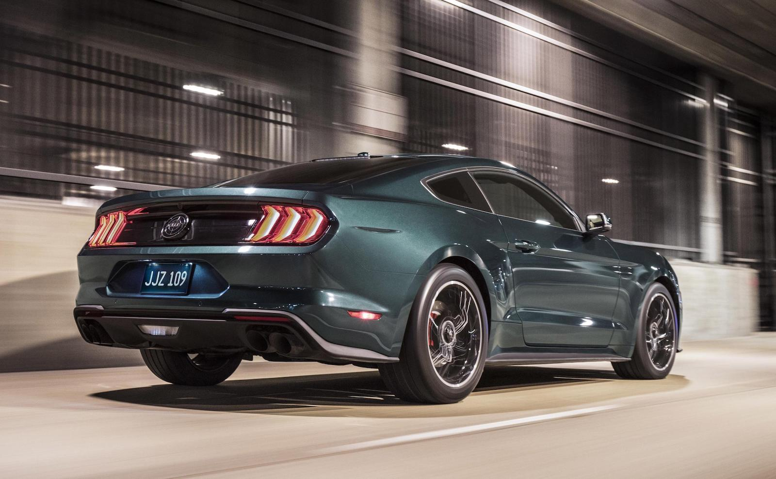 2017 Ford Mustang For Sale >> 2018 Ford Mustang Bullitt debuts at Detroit show