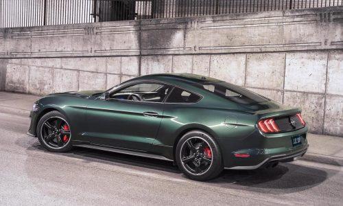 2018 Ford Mustang Bullitt debuts at Detroit show