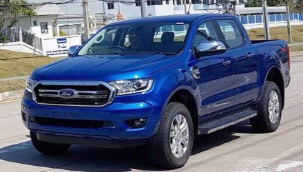 2018 Ford Ranger spotted, to debut 2.0TD with 10-spd auto