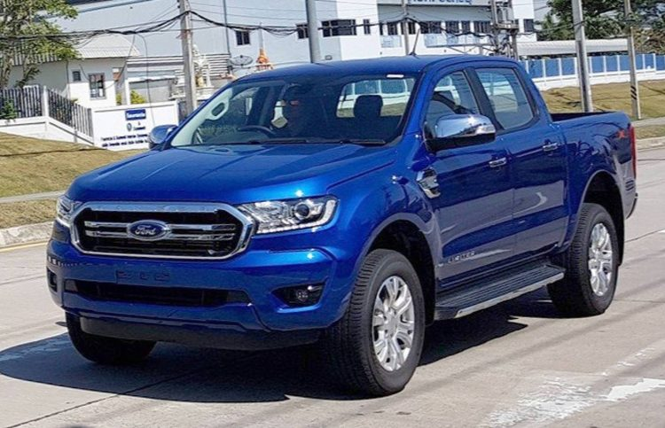 2018 Ford Ranger Spotted To Debut 2 0td With 10 Spd Auto